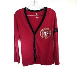 3 for $25 San Francisco 49ers Cardigan